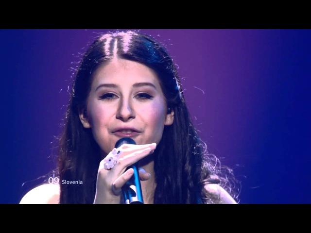 Eva Boto.Verjamem (Slovenia) (ESC BAKU 2012 - The Second Semi-Final) (HD-1080p)