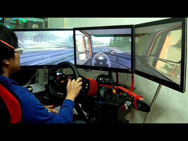 Euro truck simulator 2 playing with nvidia 3d surround