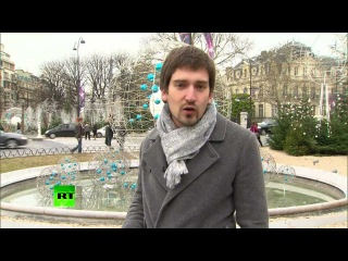 Пир во время чумы, Франция [Париж потратил 1 млн евро на рождественское освещение]