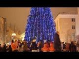 Открытие городской ёлки в Кировске