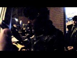 3.11.10 - My Chemical Romance in Berlin - Gerard takes cigarette from fan