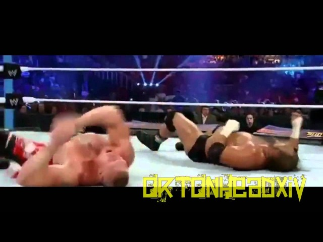 WWE Triple H Vs Brock Lesnar SummerSlam 2012 Highlights
