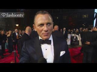 SkyFall: James Bond World Premiere ft Daniel Craig at Royal Albert Hall in London | FashionTV