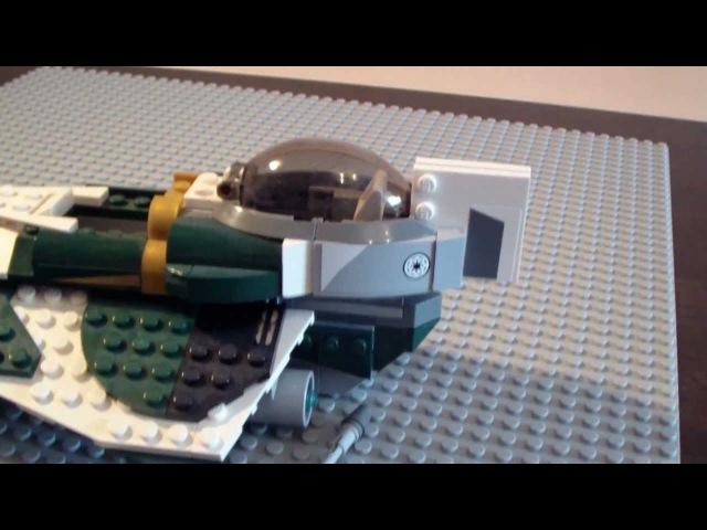 Обзор на Lego Star Wars 9498 Saesee Tiin's Jedi Starfighter