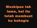 Viera Pertemuan Singkat with Lyrics