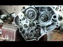 Yamaha DT 125 Rozbieranie silnika / engine disassembly