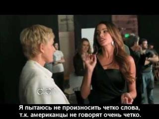 Эллен ДеДженерес и София Вергара в рекламе CoverGirl.mp4