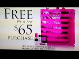 Victorias Secret Black Friday Free Tote Commercial 2012