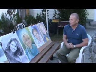 Рисуем портреты любимых  Отзыв с Крымского пленэра