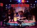 FABRIZIO DE ANDRE' - Fiume Sand Creek (live Tv 1982)