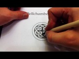 How to Draw Celtic Knots 22 - Celtic Cross Knot 33 from the Book of Kells