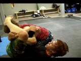 Arm Crush: The Ginger Snap (attack from the Omoplata)