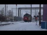 ВЛ80С-2532/2529 заходит в парк Г ст. Орша-Центральная
