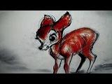 Bambi/Deleted scene - Трава под снегом