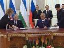 Владимир Путин посетил с краткосрочным визитом Узбекистан - Первый канал