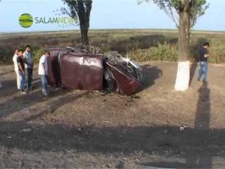 В результате ДТП в Лянкяране погибли два человека