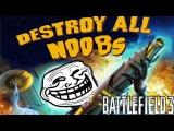 Battlefield 3: Destroy All Noobs   A Trolltage by Appletinee