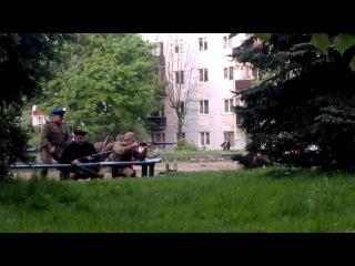 Взятие русскими немецкого блиндажа в Кёнигсберге !!!
