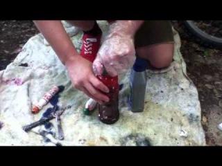 How to make homemade graffiti ink