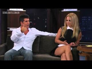 Simon Cowell fala porque escolheu Demi para o