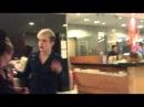 John & Edward at the hotel Frankfurt 11.11.12