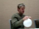 Vic Mignogna doing Ed rants on helium!