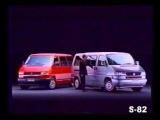 PROPAGANDA COMERCIAL VOLKSWAGEN VW CARAVELLE EUROVAN TRANSPORTER T1 KOMBI 1998 BRASIL BRAZIL 2