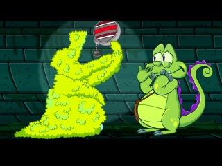 Подводные приключения Свомпи 2.1 - Крокодильчик Свомпи против гигантских водорослей