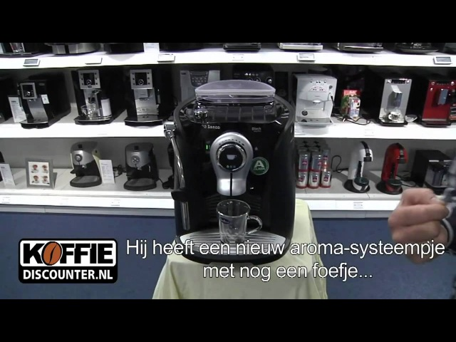 Saeco Odea Giro Plus espressomachine. Top Saeco Odea Giro Plus Black koffiemachine!