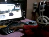 guys check this out.. the youngest gamer of manipur doing some cool practise... this kid is amazing.. ^^