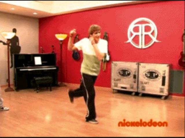 Kendall Schmidt's famous dance