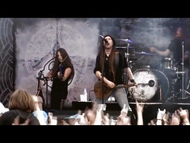 Eluveitie - Thousandfold HD ( Live at Burg Abenberg ) 2010