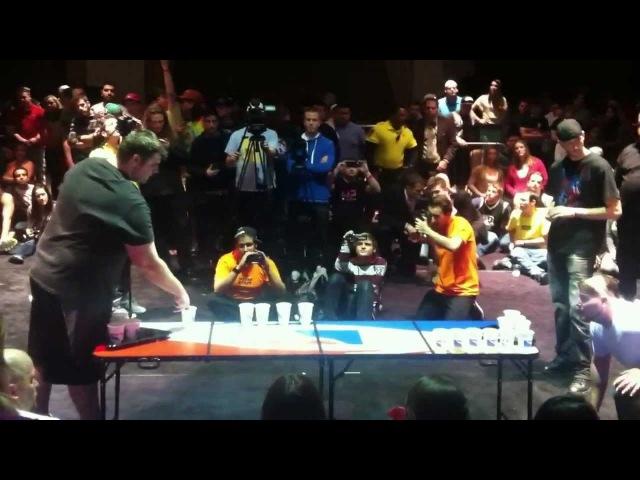 The World Series of Beer Pong FINAL GAME! Drinkin, Smokin, Straight West Coastin vs. Smashing time!