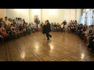 Alexey Roschektaev and Irina Nekrasova - Tango-Vals - Rodolfo Biagi y su Orquesta - Serenata campera