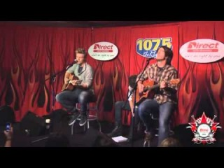 Nick Carter - Just One Kiss - Radio River 107.5 (20/10/11)