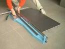 Taglio di piastrelle in gres porcellanato 120cm GRAPHILAB a 90° con tagliapiastrelle sigma art 3EK
