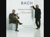 J.S. Bach - Sonata #2 in A for Violin and Harpsichord (3 of 4), BWV 1015 - 3. Andante Un Poco