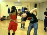 Clases de salsa Cubana con Pedro Gea Y Linet Cruz en ASISEBAILA