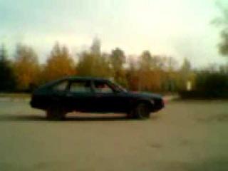 Москвич 2141 дрифт.3gp