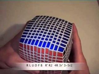 Как собрать куб 11х11 ч.1/6 / How to solve cube 11x11 part 1/6
