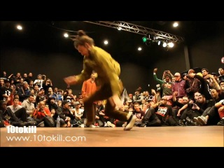 Who Got The Flava Today? Russia  B-Boy Krit RAW CIRCLES 2011