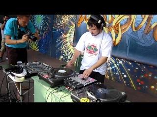 DJ's Showcase Dj Ate,Dj Mone,Dj 5.45,Dj Proton & Bboy Komar TOP 9 Judge Showcase