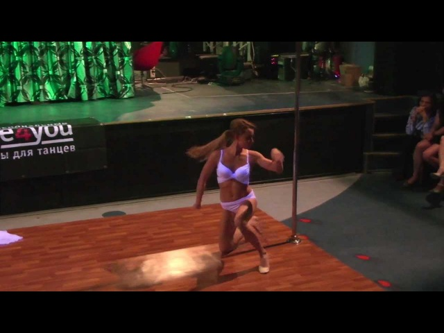 Miss Pole Dance NN 2012 1 место Воробцова Анна part