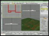 3D Studio Max моделирование ландшафта