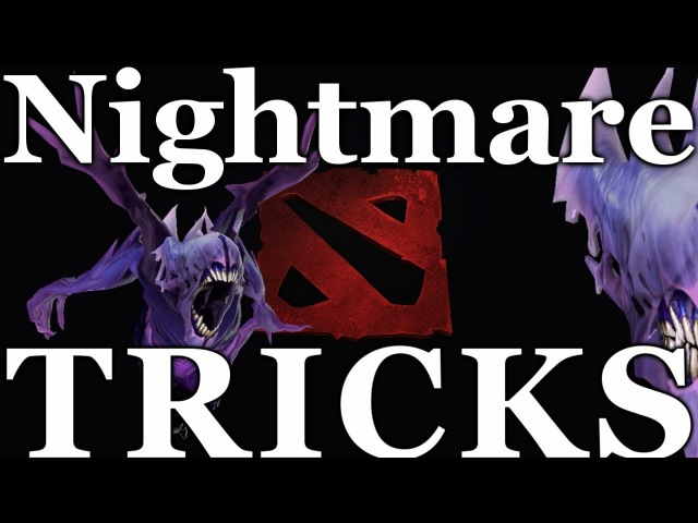 Dota 2 - Bane Nightmare Dodge Tricks   HD