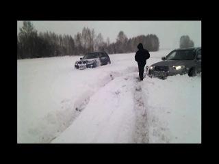 Subaru forester субару форестер по снегу