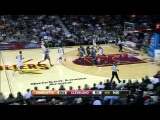Tristan Thompson and Byron Mullens Exchange Blocks