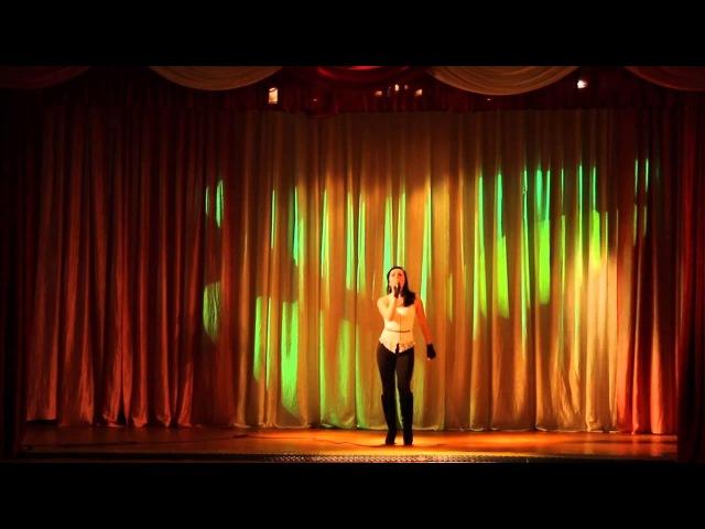 Выступление Алены Кадановой (Bananarama - Venus)
