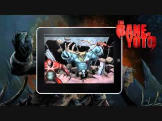 The Bane of Yoto Free 3D Comic App Featuring Music by Celldweller