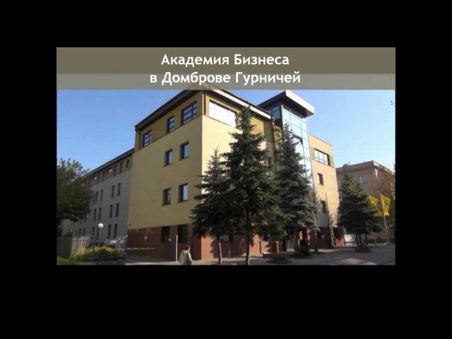 Aкадемия Бизнеса в Домброве Гурничей